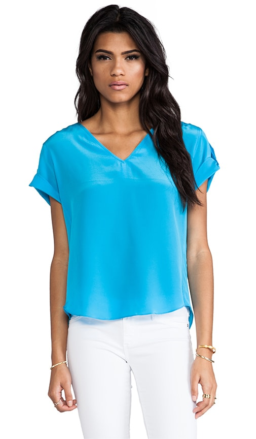 Solid Silk Erica Top