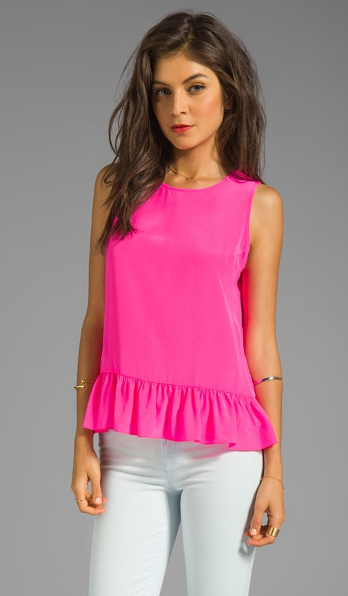 Solid Silk Alyson Top