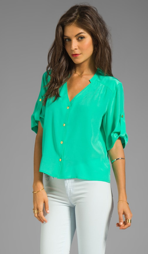 Solid Silk Molly Top