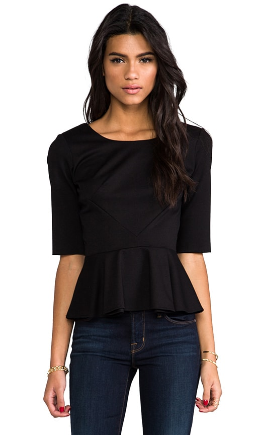 Abbey Peplum Top