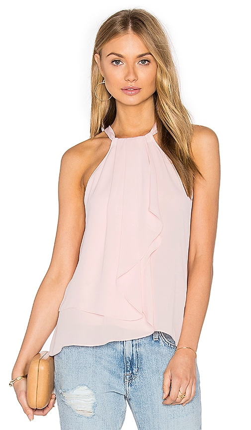 Amanda Uprichard Chauncey Tank in Rose