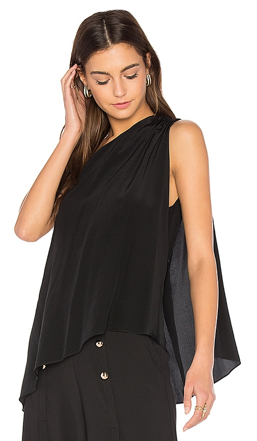 Amanda Uprichard x REVOLVE Kaleigh Tank in Black