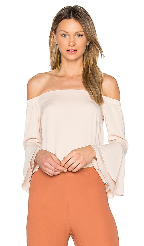 Amanda Uprichard Arabelle Top in Beige