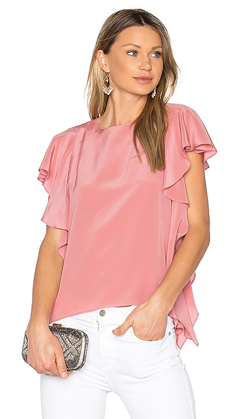 Amanda Uprichard Julep Top in Pink