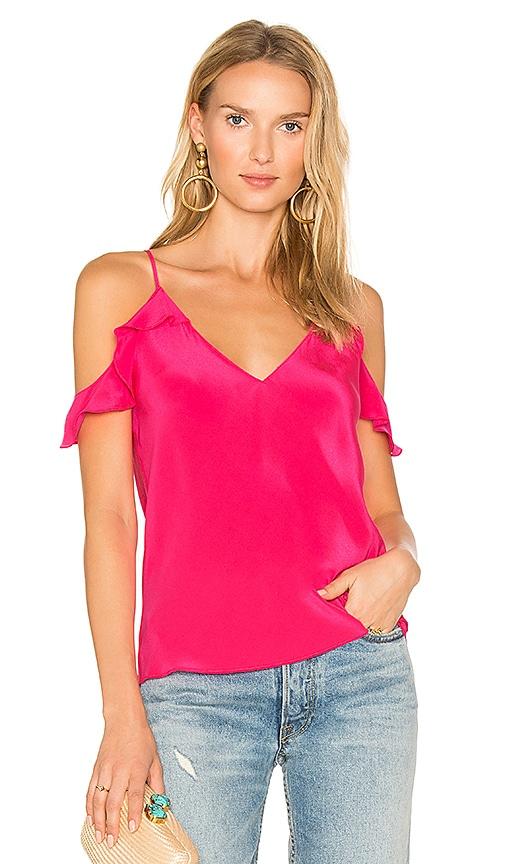 Amanda Uprichard Aliyah Top in Pink
