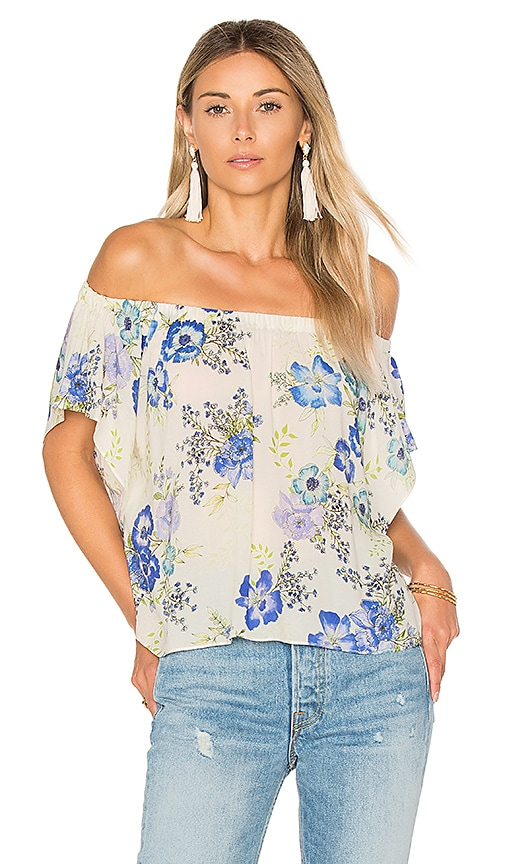 Amanda Uprichard Castaway Off The Shoulder Top in White