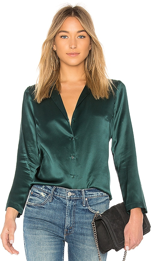 1dcbbddd6a1d62 Amanda Uprichard Yvonne Top in Conifer | REVOLVE