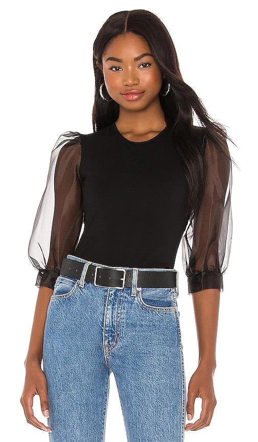 Amanda Uprichard JILLY 衬衫 – 黑色