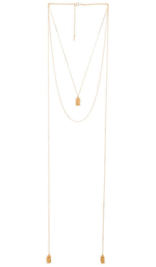 Amarilo Lana Necklace in Gold Overlay