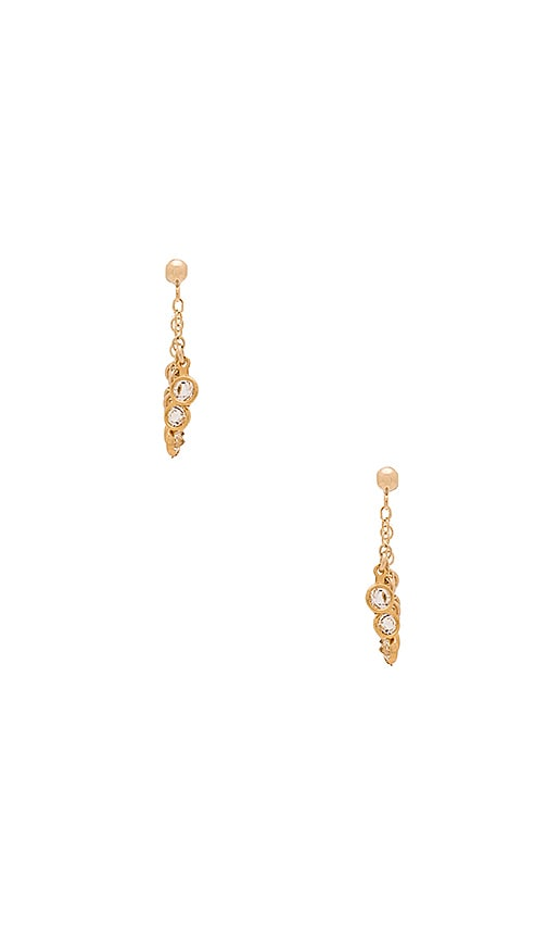 Amarilo Liv Earrings in Metallic Gold