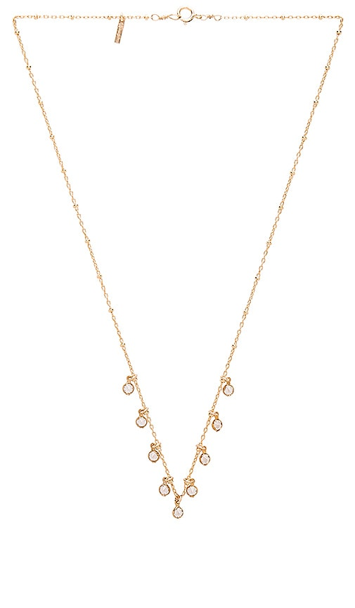 Amarilo Liv Necklace in Metallic Gold