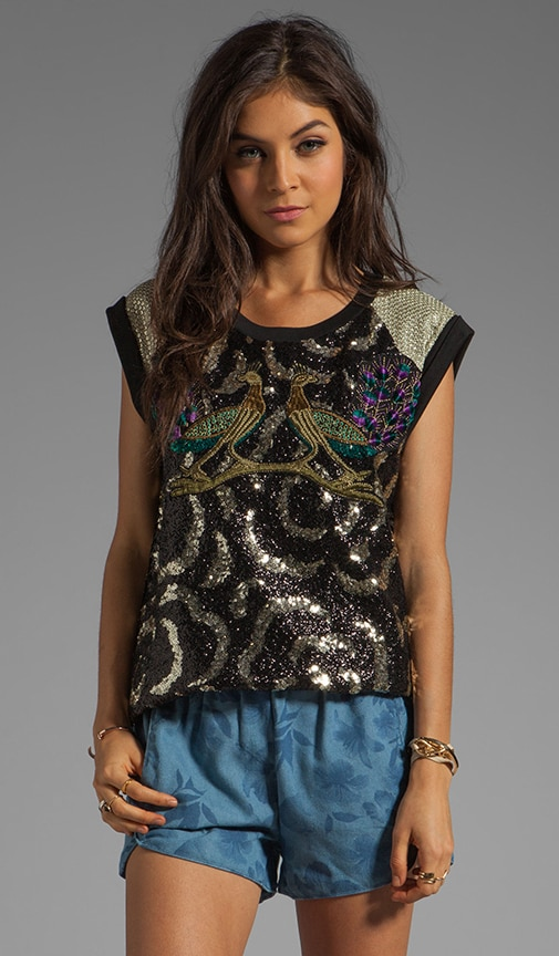 April May Torino Sequin Top