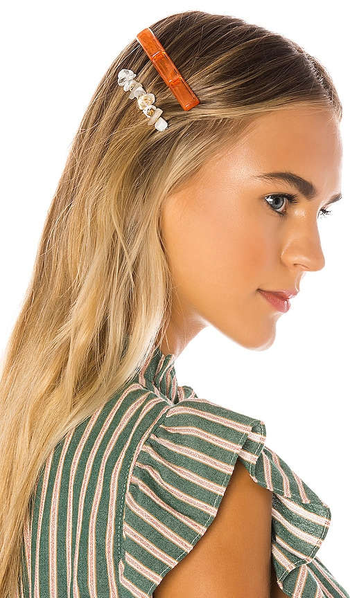 Rosa Hair Clip Set
