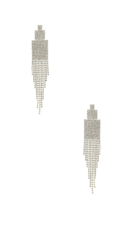 Amber Sceats X REVOLVE Georgie Earrings in Metallic Silver