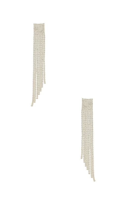 Amber Sceats X REVOLVE Olivia Earrings in Metallic Silver