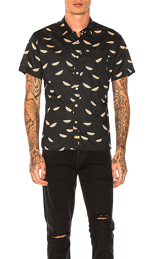 Ambsn Melon Shirt in Charcoal