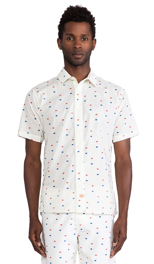 Revolution Button Down