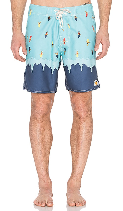 Ambsn Wipeout Boardshorts in Navy