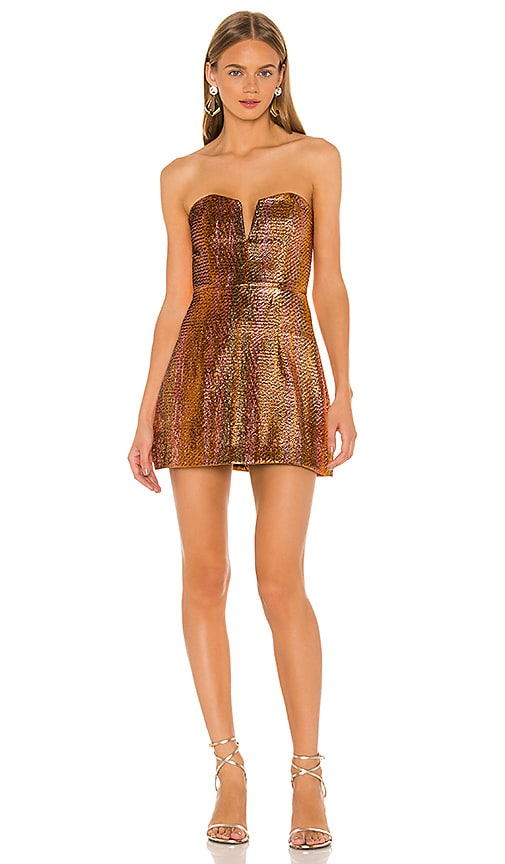 Electric Nights Mini Dress