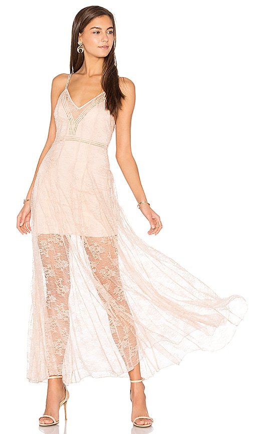 Alice McCall I See You Dress in Blush