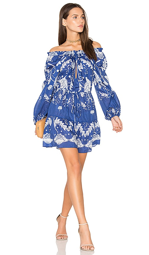 Alice McCall Cant Do Without You Mini Dress in Blue
