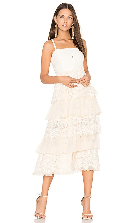 Alice McCall A Beautiful Story Dress in Cream