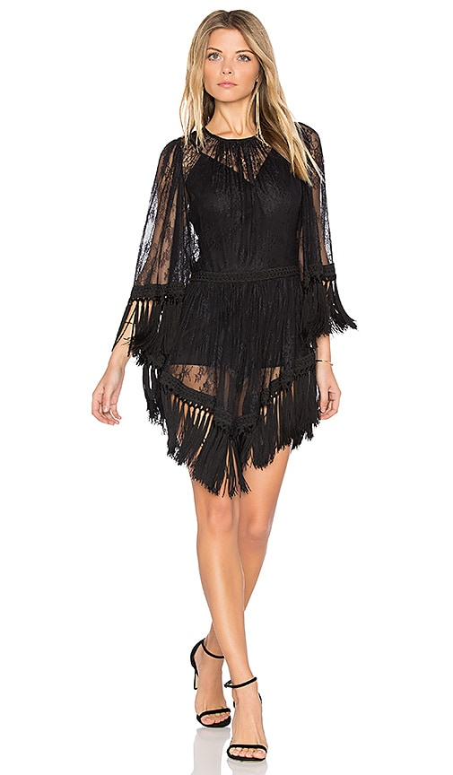 Alice Mccall Are You Ready Girl Mini Dress In Black Revolve