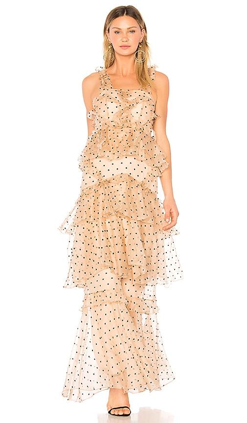 f12d0d5e5b6d Alice McCall Yoko Dress in Black Spot | REVOLVE