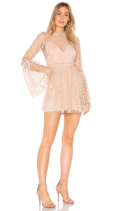 Alice McCall Back to You Dress in Blush
