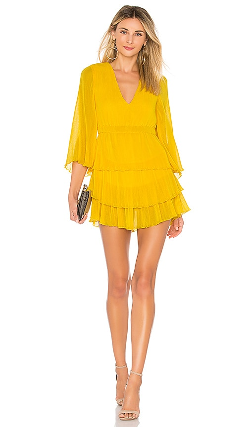 Alice McCall And Then You Kissed Me Dress in Yellow