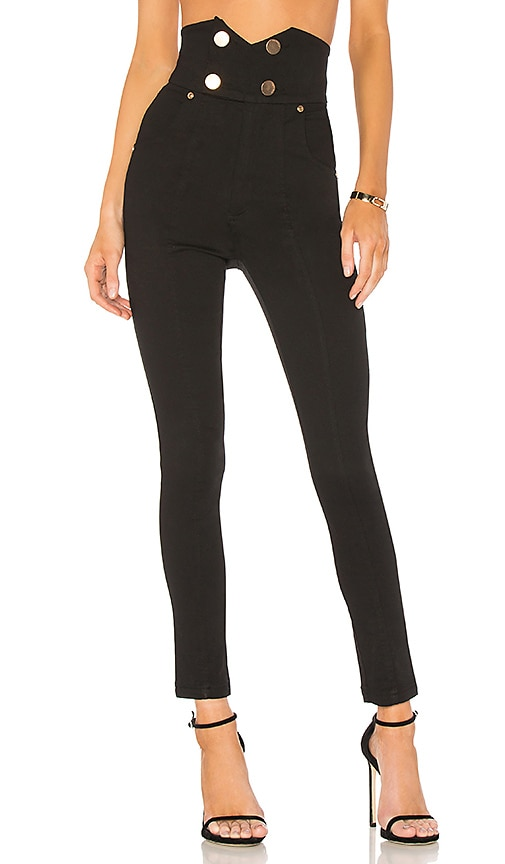 be6d724fad Alice McCall Shut The Front J Adore Jeans in Black Denim