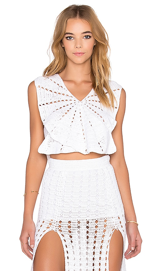 Alice McCall I Want It All Tank in White