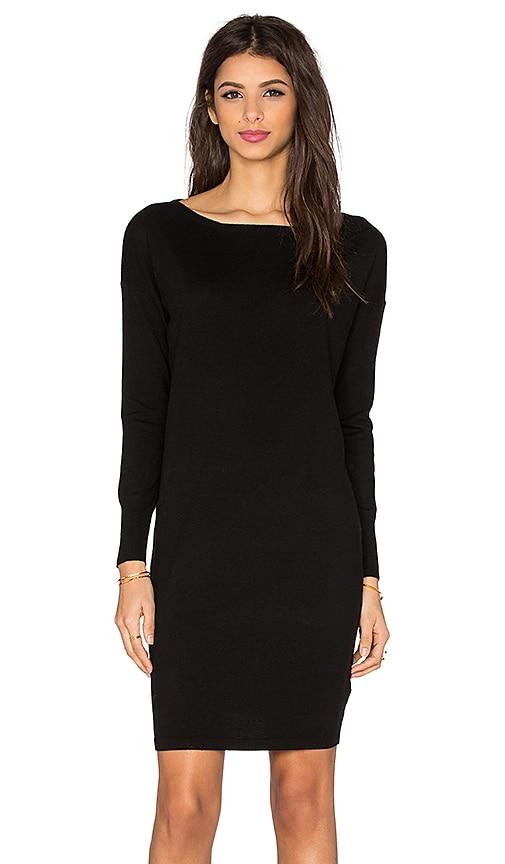 American Vintage Fontana Sweater Dress in Black