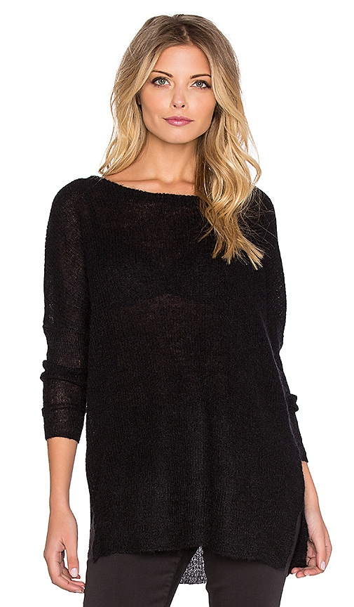 American Vintage Shelby Sweater in Black