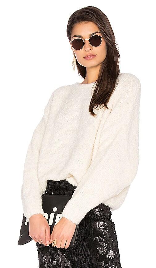 American Vintage Kimosborow Sweater in Ivory