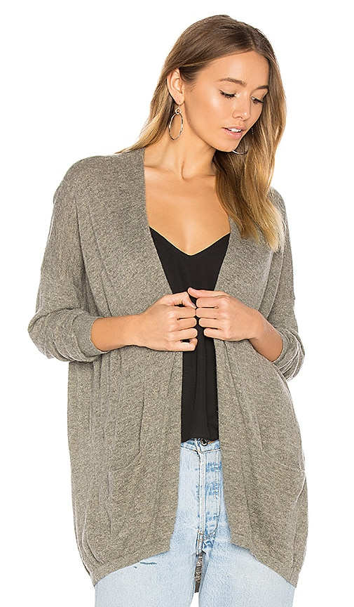 American Vintage Fiptown Cardigan in Gray