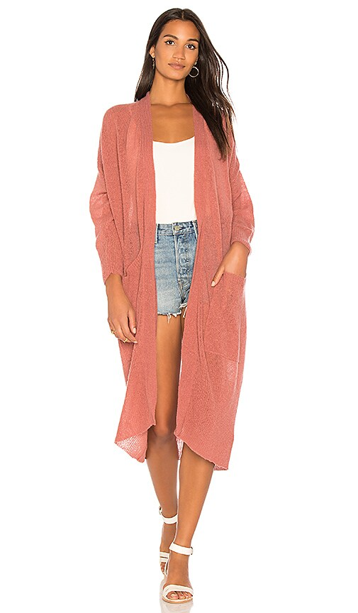 American Vintage Lulubay Cardigan in Blush