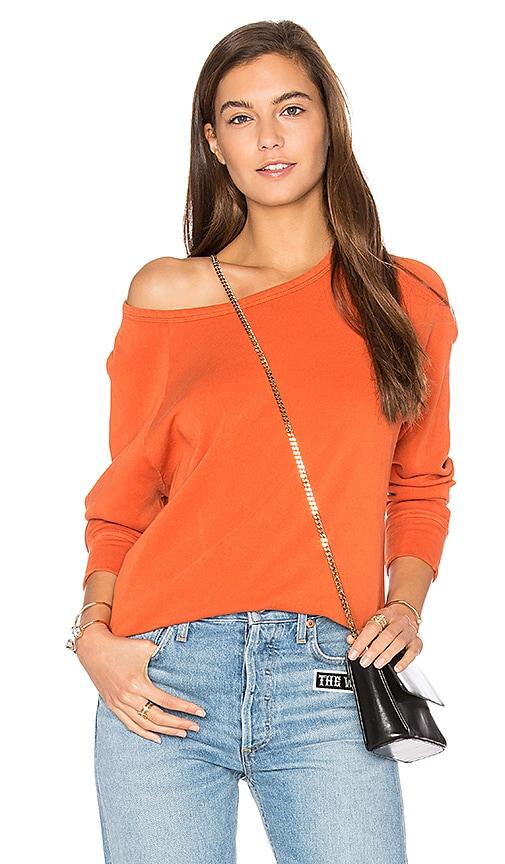 American Vintage Jaguar Sweatshirt in Orange