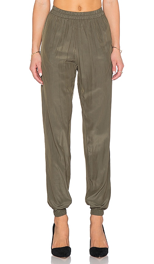 American Vintage Zachary Pant in Herb