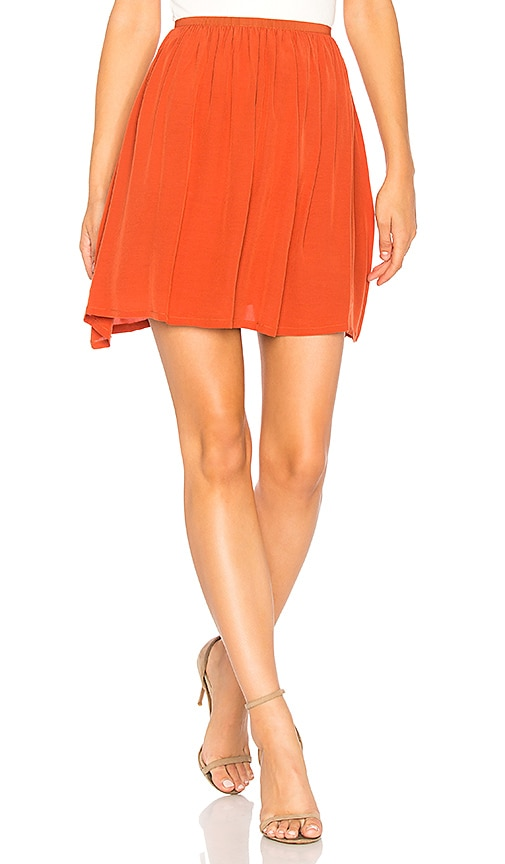 American Vintage Comenutt Skirt in Burnt Orange