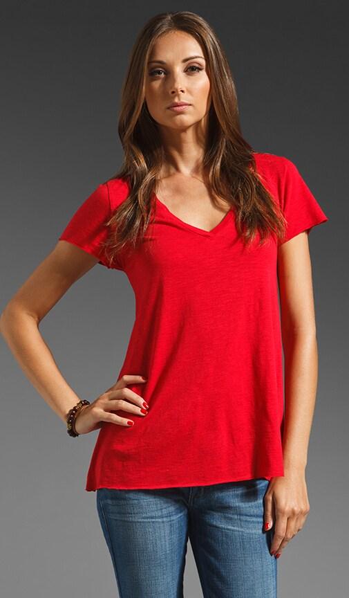 Jacksonville V Neck Short Sleeve Tee Shirt