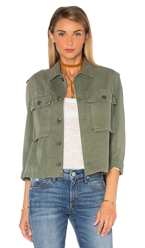 AMO Army Shirt Jacket in Army