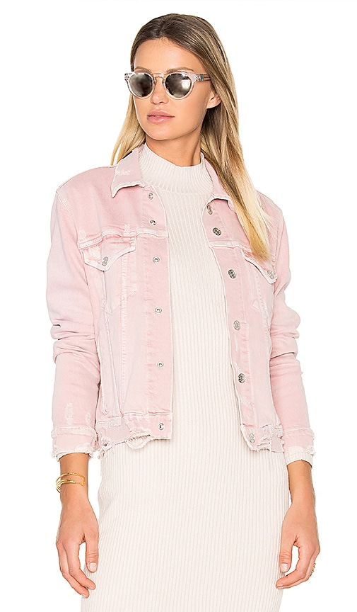 AMO Pop Jacket in Blush