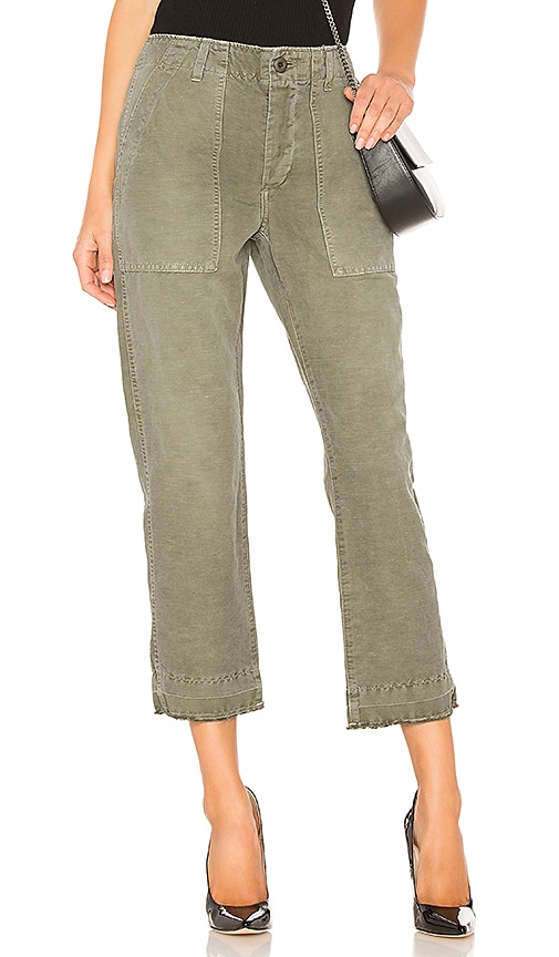 AMO Army Babe Pant in Olive