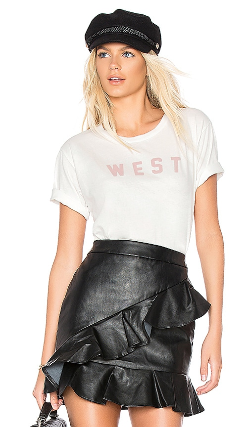AMO West Tee in White