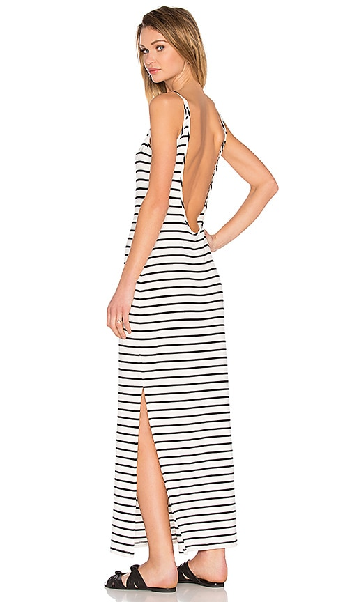 amour vert Brynn Maxi Dress in White