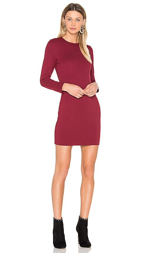 amour vert Tabitha Dress in Red