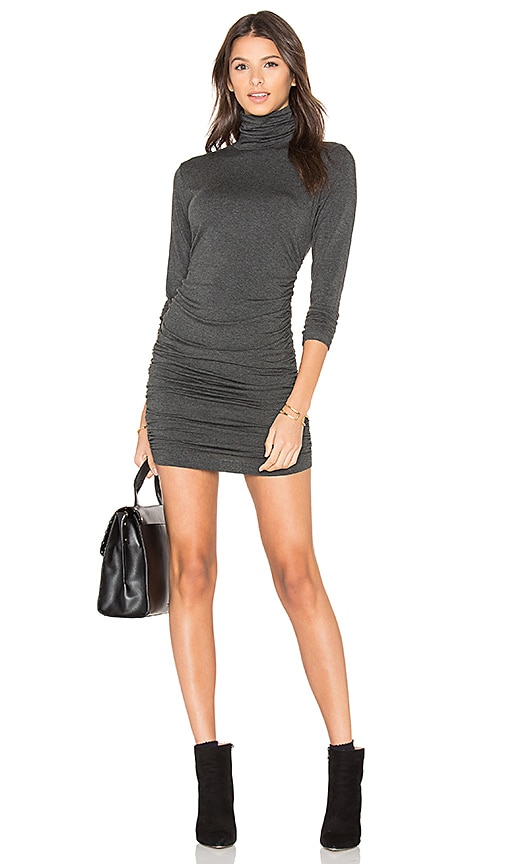 amour vert Petra Dress in Charcoal