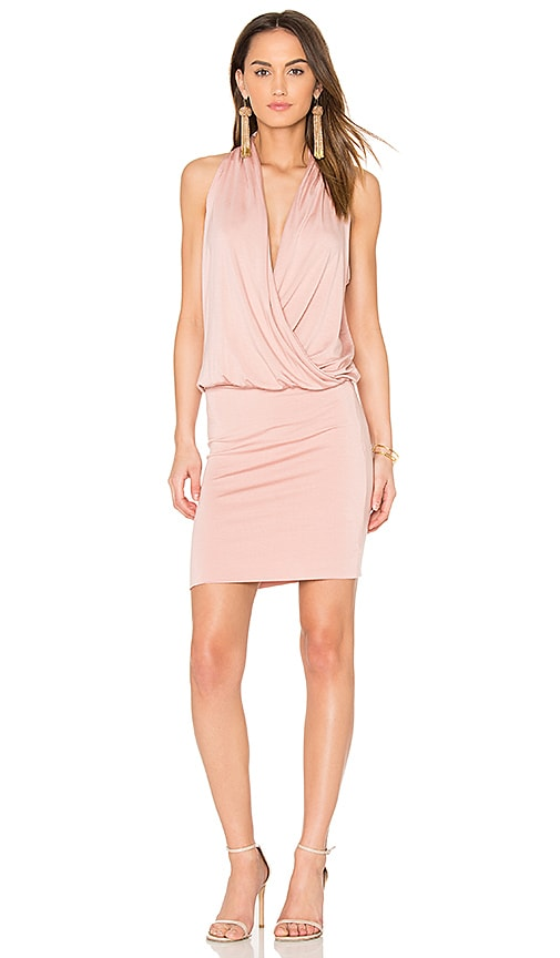 amour vert Aline Dress in Pink