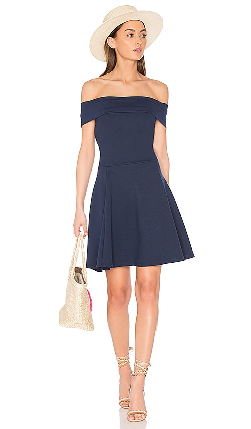 amour vert Pheobe Dress in Blue